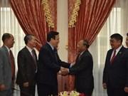 Delegación parlamentaria vietnamita visita Cambodia