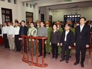 Dictan 20 años de prisión contra ex director general de Vinashin