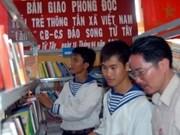 VNA entrega libros al distrito isleño de Truong Sa