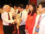 Dirigente partidista resalta papel de jóvenes