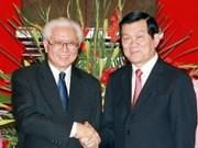 Presidente de Singapur visita Vietnam