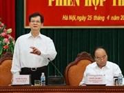 Primer ministro aborda tareas de lucha contra corrupción