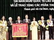 Ciudad Ho Chi Minh celebra victoria de primavera de 1975