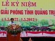 Vietnam celebra aniversario 40 de liberación de Quang Tri