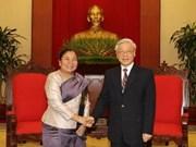 Elogian solidaridad entre mujeres de Vietnam y Laos