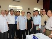 Secretario General del Partido se reúne con electores