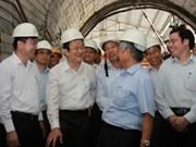 Presidente vietnamita visita a trabajadores en Quang Ninh