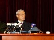 Inauguran quinto pleno del Partido Comunista de Vietnam