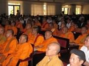 Provincia Tra Vinh acoge conferencia sobre budismo