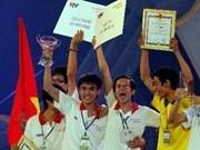 Universidad de Lac Hong gana concurso nacional de robots