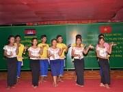 Jóvenes de Vietnam y Cambodia efectúan campamento de amistad