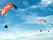 Efectuarán carrera de parapente internacional de Da Nang
