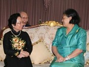 Vicepresidenta vietnamita inicia visita a Tailandia