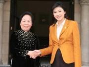 Finaliza vicepresidenta vietnamita visita a Tailandia