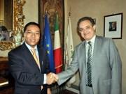 Aumenta provincia italiana relaciones con Vietnam