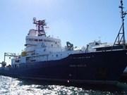 Barco científico estadounidense visita Da Nang