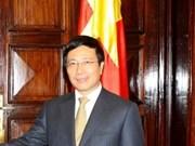 Canciller vietnamita inicia visita a Luxemburgo