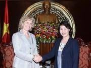 Concluye vicepresidenta parlamentaria visita a EE.UU.