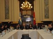 Vietnam y Argentina impulsan nexos bilaterales