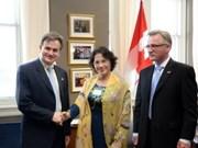 Vietnam y Canadá intensifican cooperación multifacética