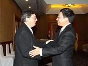 Dialogan cancilleres vietnamita y cubano
