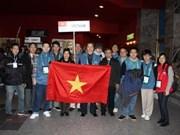 Concursa Vietnam en olimpiada matemática