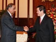 Vietnam y la India fomentan relaciones