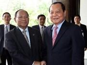 Vietnam elogia apoyo cambodiano