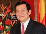 Presidente Truong Tan Sang visitará Rusia