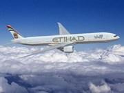 Etihad Airways abre ruta directa a Ciudad Ho Chi Minh