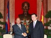Presidente vietnamita destaca éxitos cambodianos