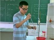 Gana Vietnam medallas en Olimpiada de Química