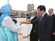 Continúa Presidente Truong Tan Sang visita en Rusia