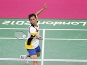Raquestista Tien Minh avanza en los Juegos Olímpicos