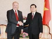 Presidente vietnamita concluye visita a Rusia