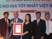 Eximbank, mejor banco doméstico de Vietnam
