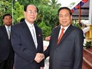 Laos y Corea intensifican colaboración
