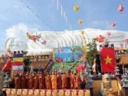 Inauguran semana cultural budista en Nghe An
