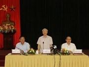 Secretario general llama a mejorar formación cuadros