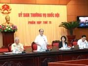 Inauguradas sesiones de Comisión Permanente del Parlamento