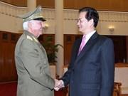 Gobierno vietnamita apoya lazos militares con Cuba