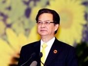 Parte Primer Ministro hacia Cumbre ASEAN-China