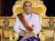 Rey de Cambodia inicia visita a Vietnam