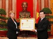 Distinción vietnamita honra a difunto héroe francés