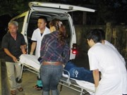 Mueren cinco personas en accidente en bahía de Halong