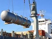 Exportan 350 toneladas de equipamientos de desalado