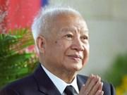 Falleció ex emperador cambodiano Norodom Sihanouk