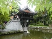Pagoda de solo pilar, obra especial de Asia