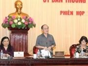 Concluye parlamento sesiones de su Comité Permanente