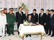 Vietnam rinde homenaje póstumo a Sihanouk